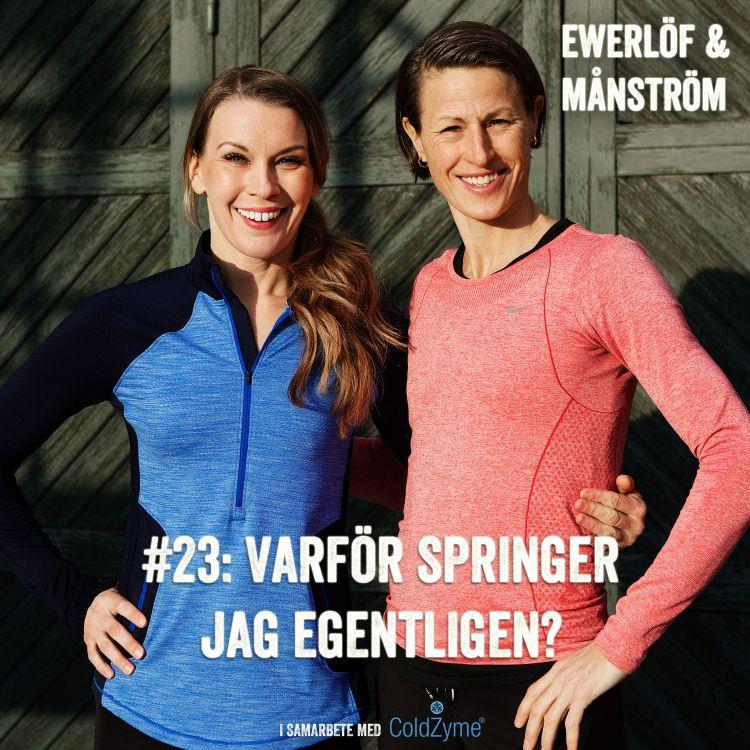 cover art for #23: Varför springer jag egentligen?