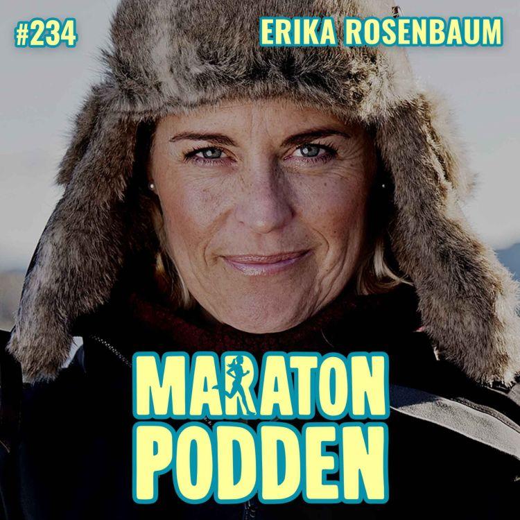 cover art for #234: Erika Rosenbaum, swimrunprästen som vägrar välja den lätta vägen