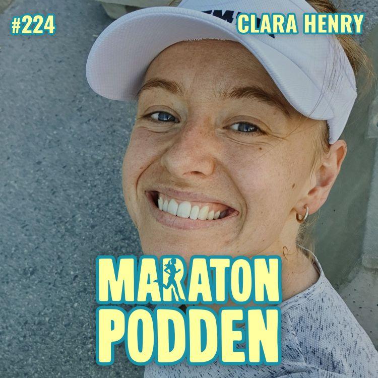 cover art for #224: Clara Henry, trött på att behöva ursäkta sig som löpare