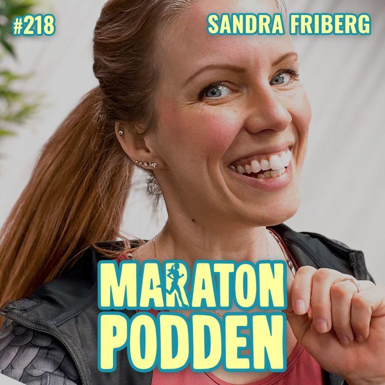 cover art for #218: Sandra Friberg, drottningen av hemmaträning!
