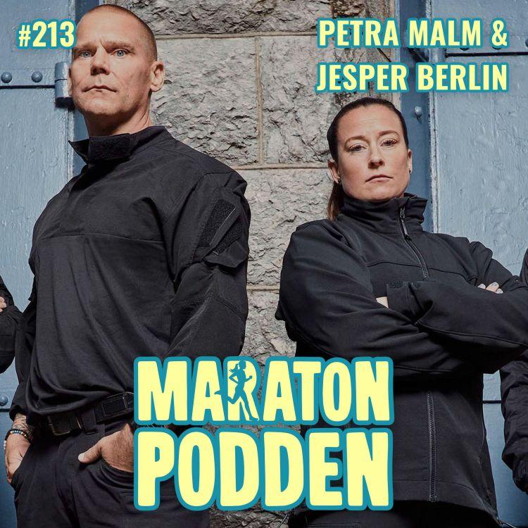 cover art for #213: Petra Malm & Jesper Berlin, elitsoldaterna från Elitstyrkans hemligheter