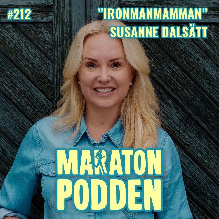 cover art for #212: Susanne Dalsätt, från otränad soffpotatis till Ironman!