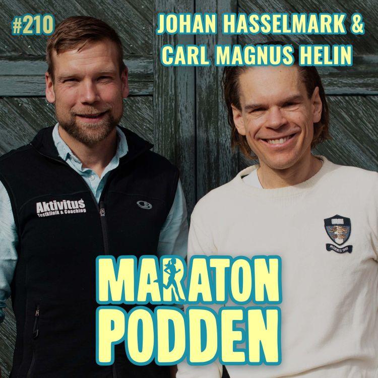 cover art for #210: Johan Hasselmark & Carl Magnus Helin, ALLA kan bli vinnarskallar – så gör du!