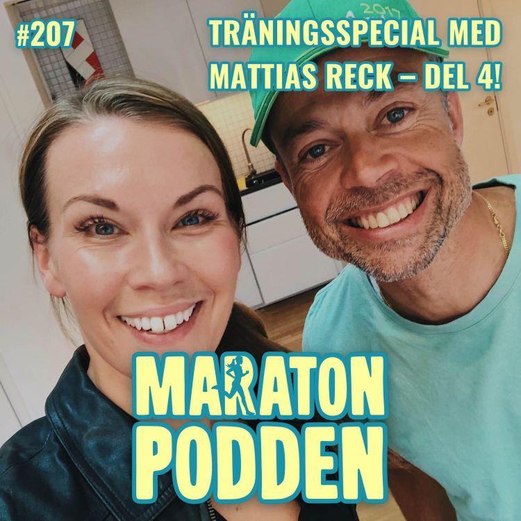 cover art for #207: Träningsspecial med Mattias Reck – sista delen!