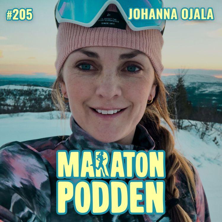 cover art for #205: Johanna Ojala, sporttårarna, runstreaken och att vägra hoppa