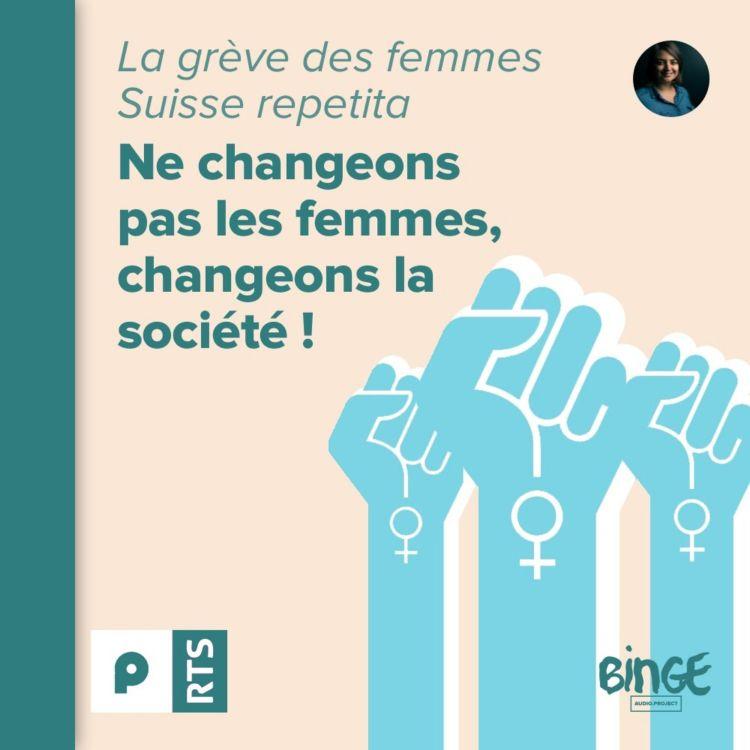 cover art for La grève des femmes, Suisse repetita (3/3)
