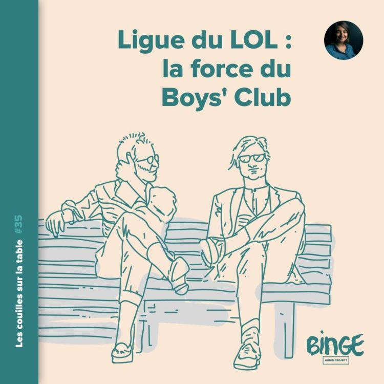 cover art for La Ligue du LOL : la force du Boys' Club