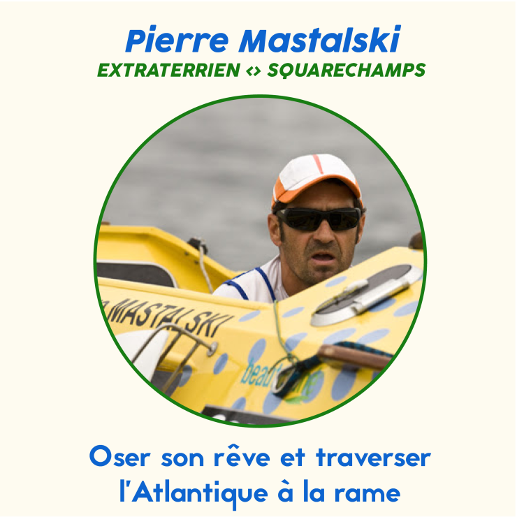 cover art for #67 Pierre Mastalski - La traversée de l'Atlantique à la rame