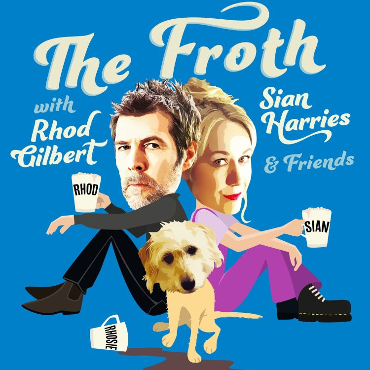 """cover art for And Rhod said, """"Let there be froth""""...and there was froth."""
