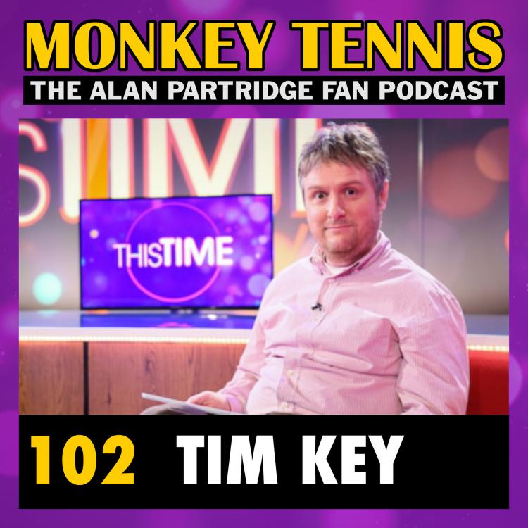 cover art for 102 • Tim Key (aka Sidekick Simon)