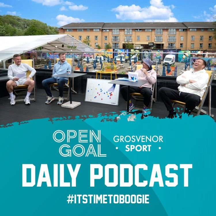 cover art for THE EVE OF SCOTLAND vs ENGLAND | Day 7 of Euros Daily Podcast