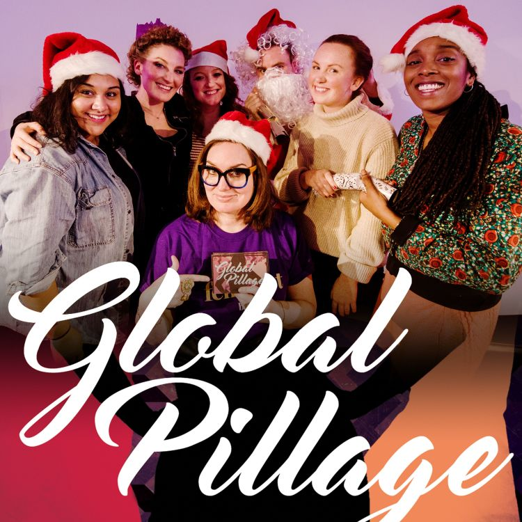 cover art for 9.X Christmas Special 2019 with Alice Fraser, Sukh Ojla, Athena Kugblenu and Catherine Bohart