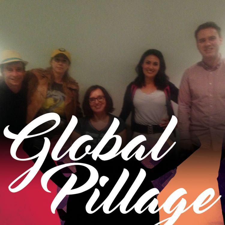 cover art for 1.6 Globalisation with Yasmine Akram, Tiff Stevenson, Sofie Hagen and Danielle Ward
