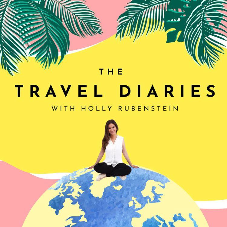 cover art for Condé Nast Traveller's Melinda Stevens