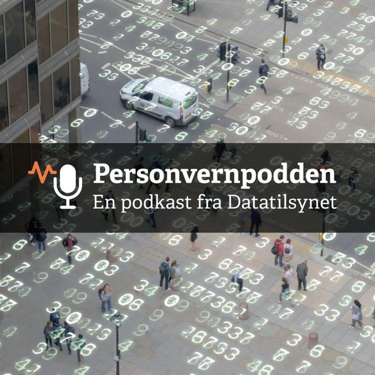 cover art for Pandemi og personvern