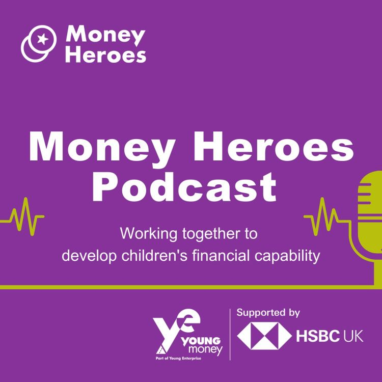 cover art for MONEY HEROES PODCAST TRAILER