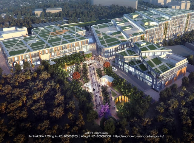 Agastya Corporate Park- An Upscale commercial development