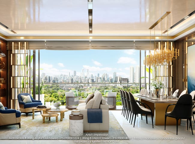 Residential project in South Mumbai full of luxuries