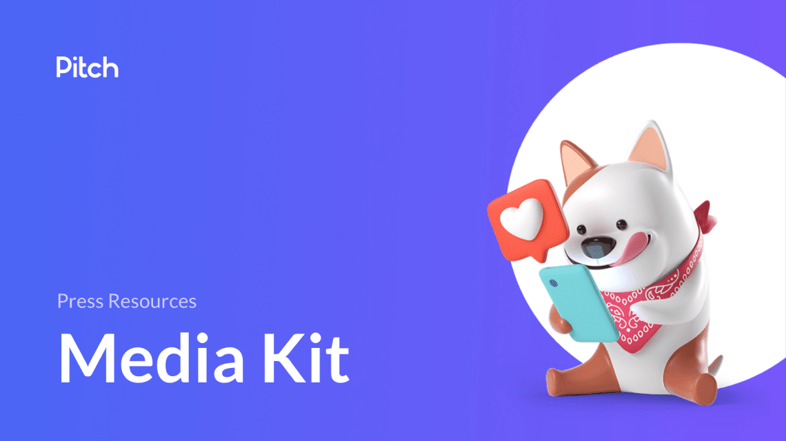 Our Pitch media kit with press resources
