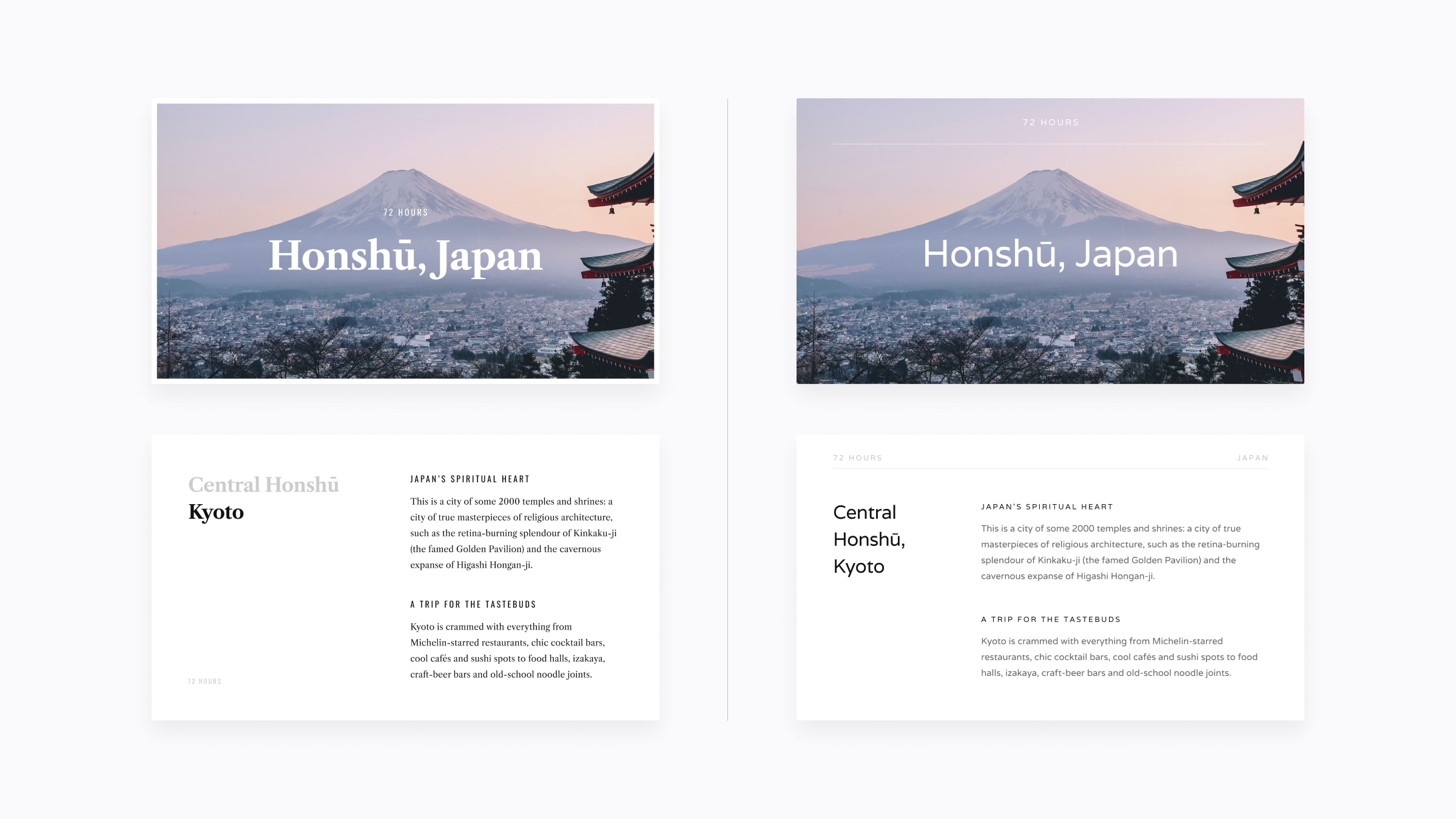 minimal presentation template examples