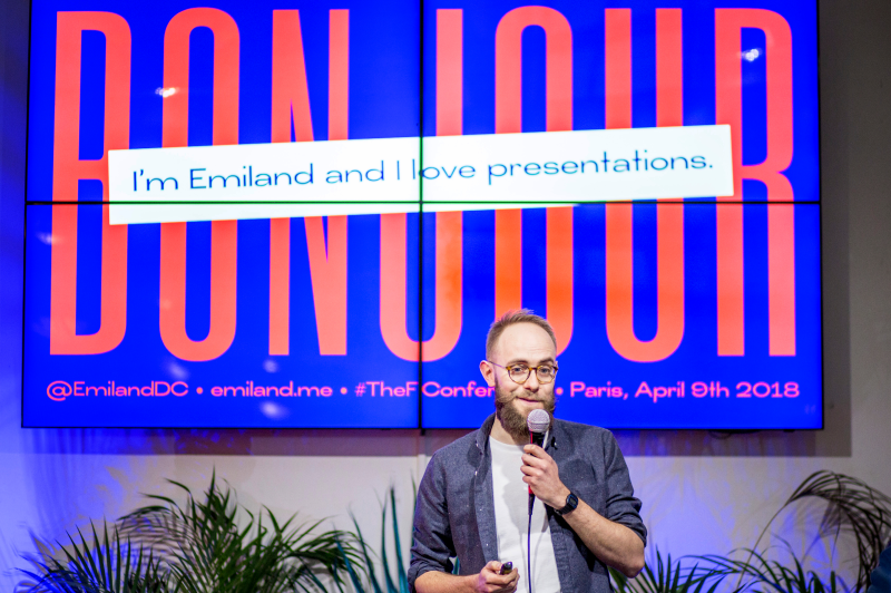 Emiland de Cubber slide designer