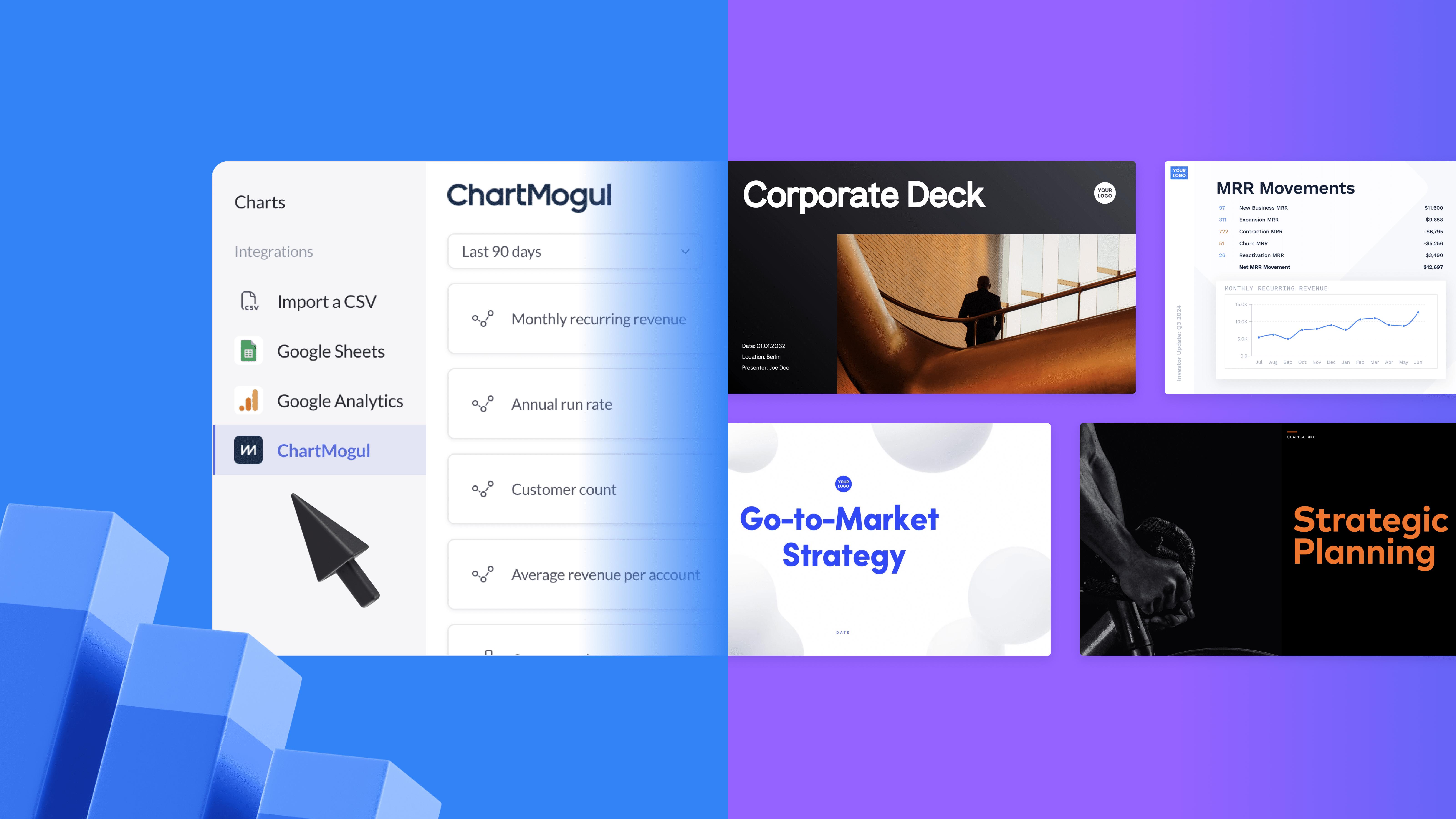 Import your ChartMogul data