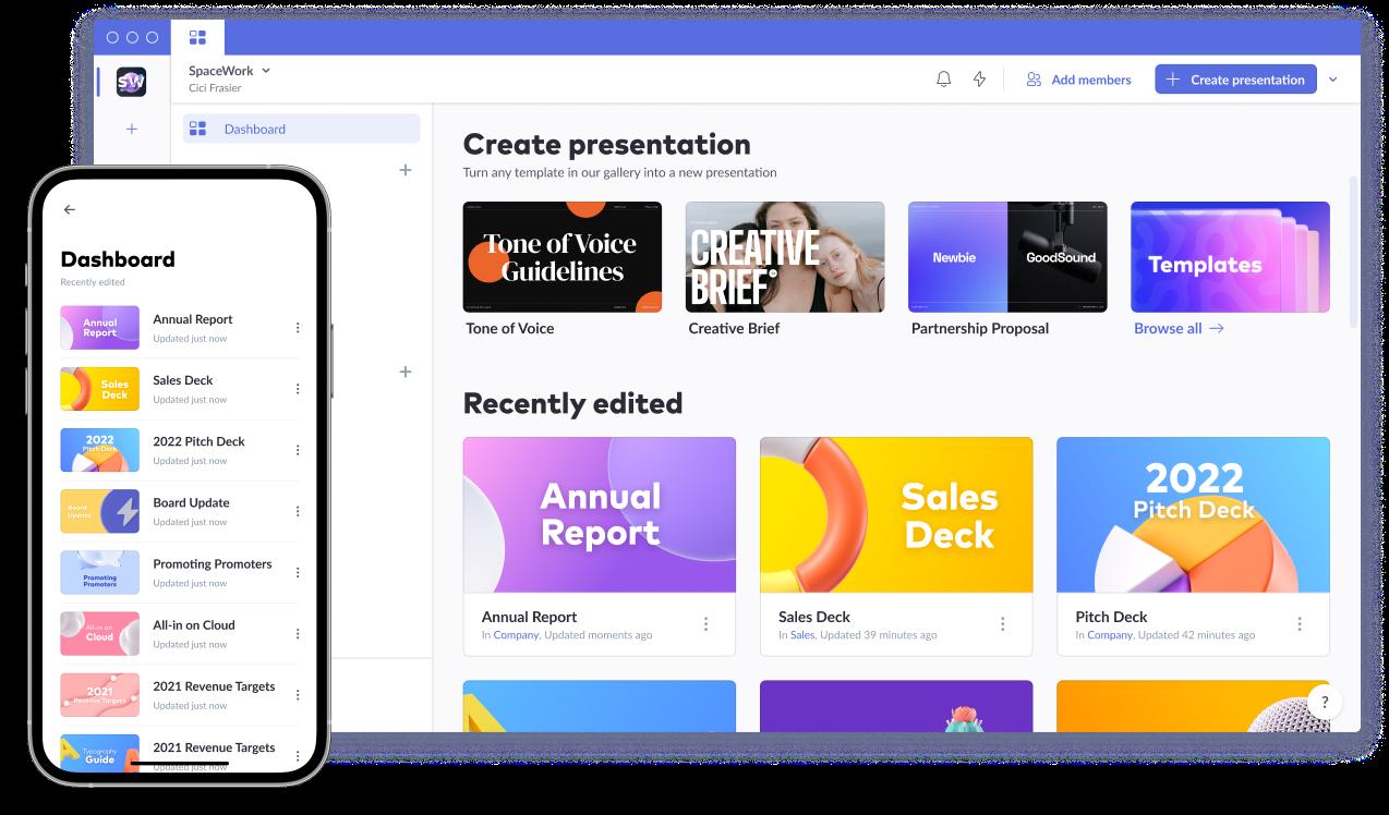 Free online presentation maker – 100+ Templates