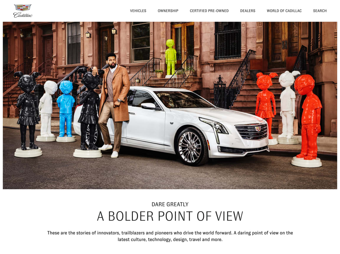 Stories of Innovation with Cadillac