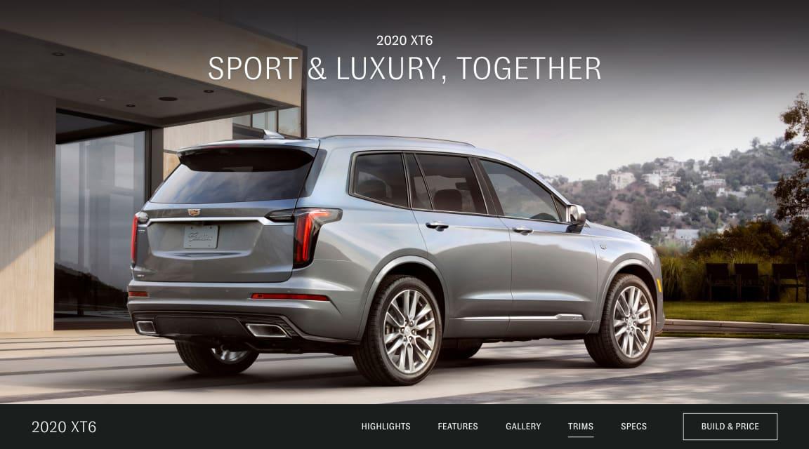 Xt6 premium luxury sport trims