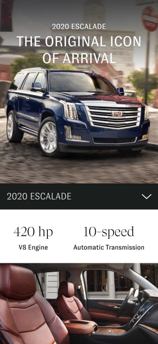 2020 escalade vehicle overview
