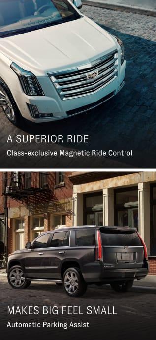 Escalade magnetic ride control