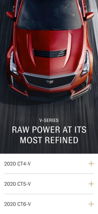 V-series vehicle selection