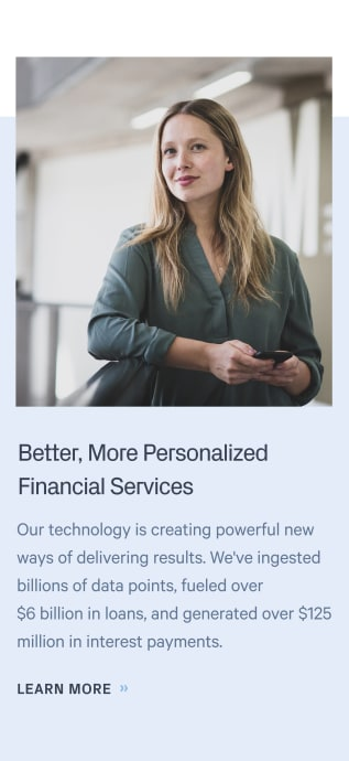 Personalize your financial services