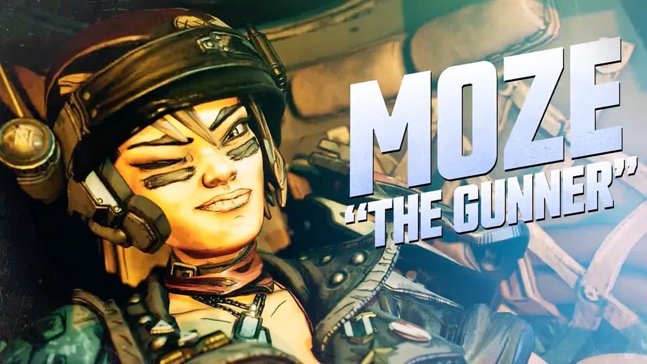 Borderlands 3 - Moze, the Gunner