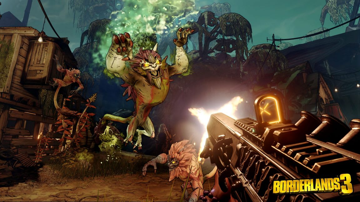 Borderlands 3 végjáték, raid