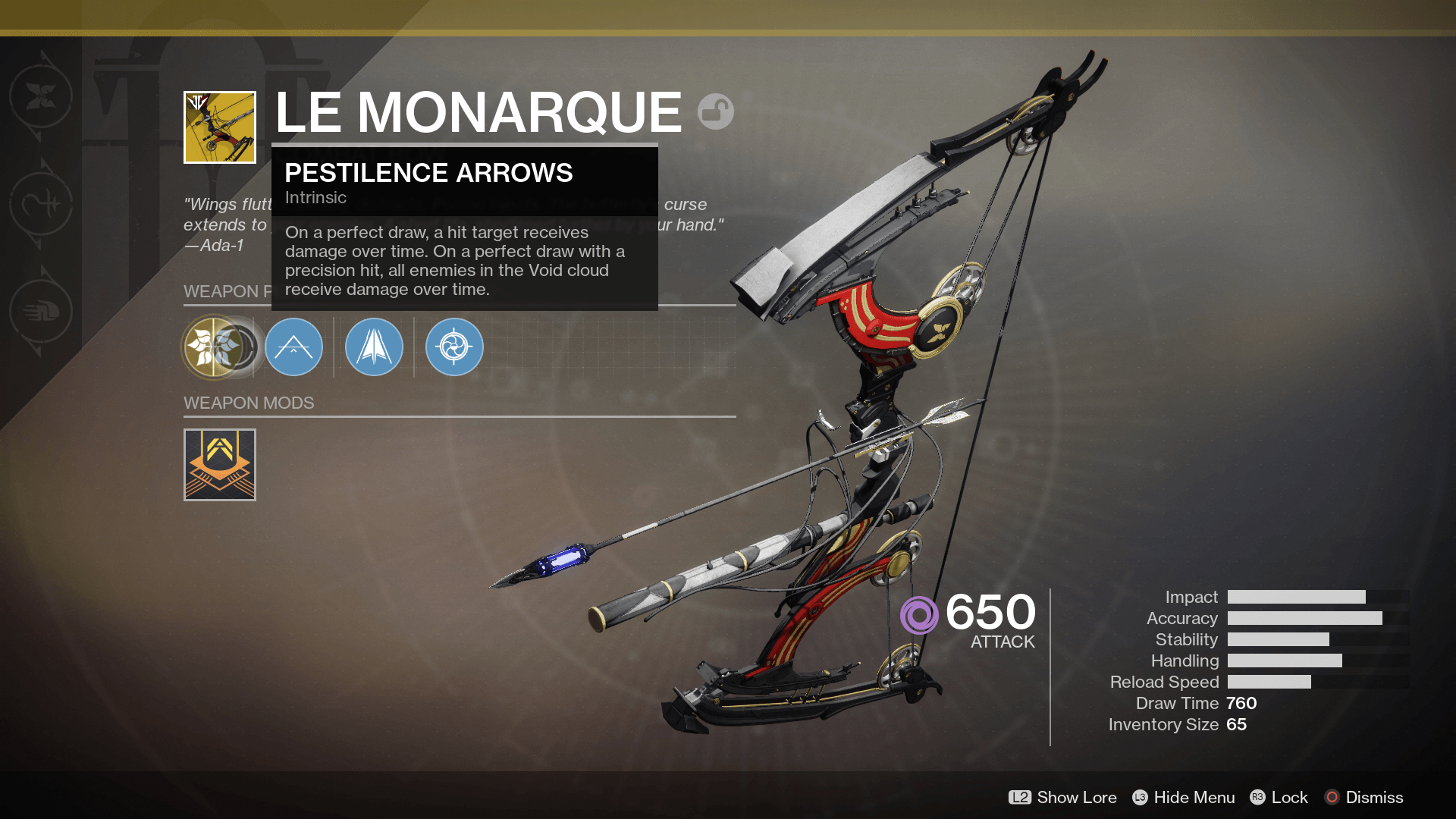 Destiny 2 Black Armory exotic
