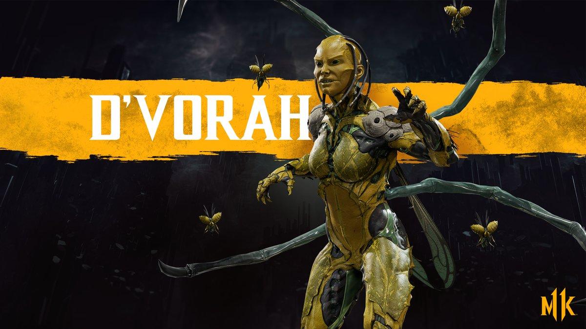 Mortal Kombat 11 D'Vorah