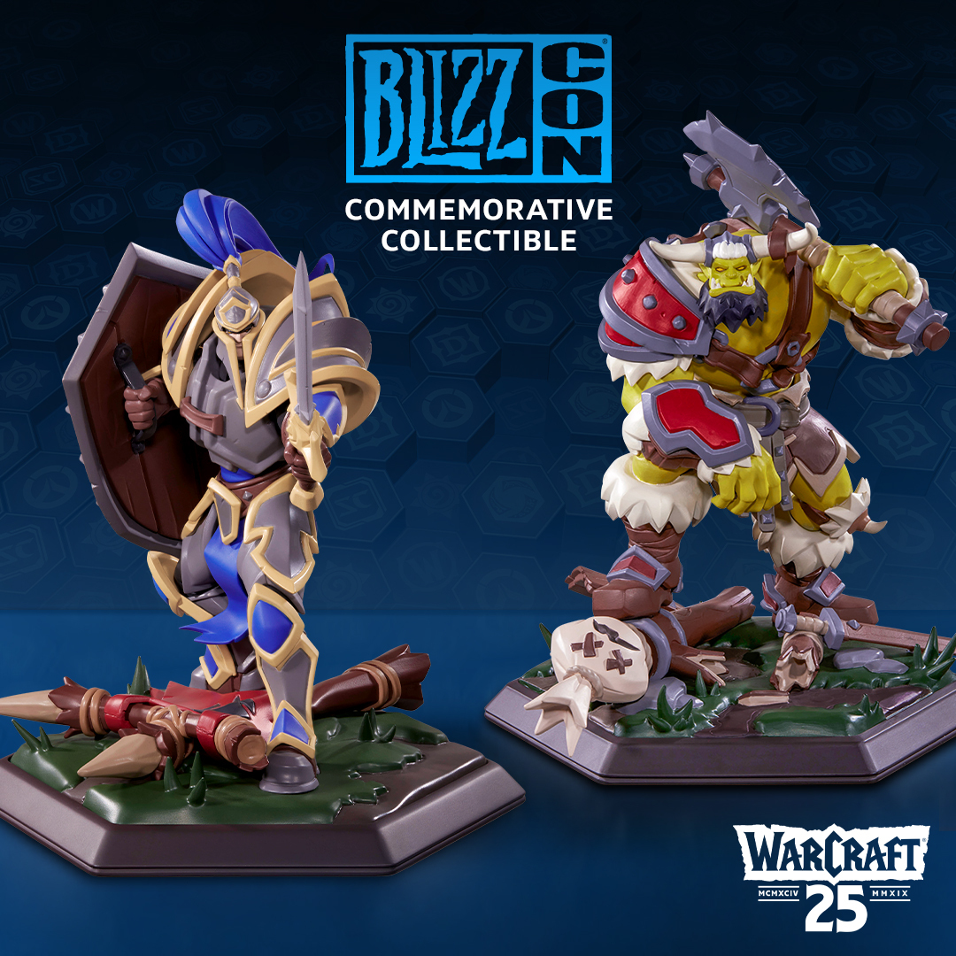 BlizzCon 2019 collectible statue
