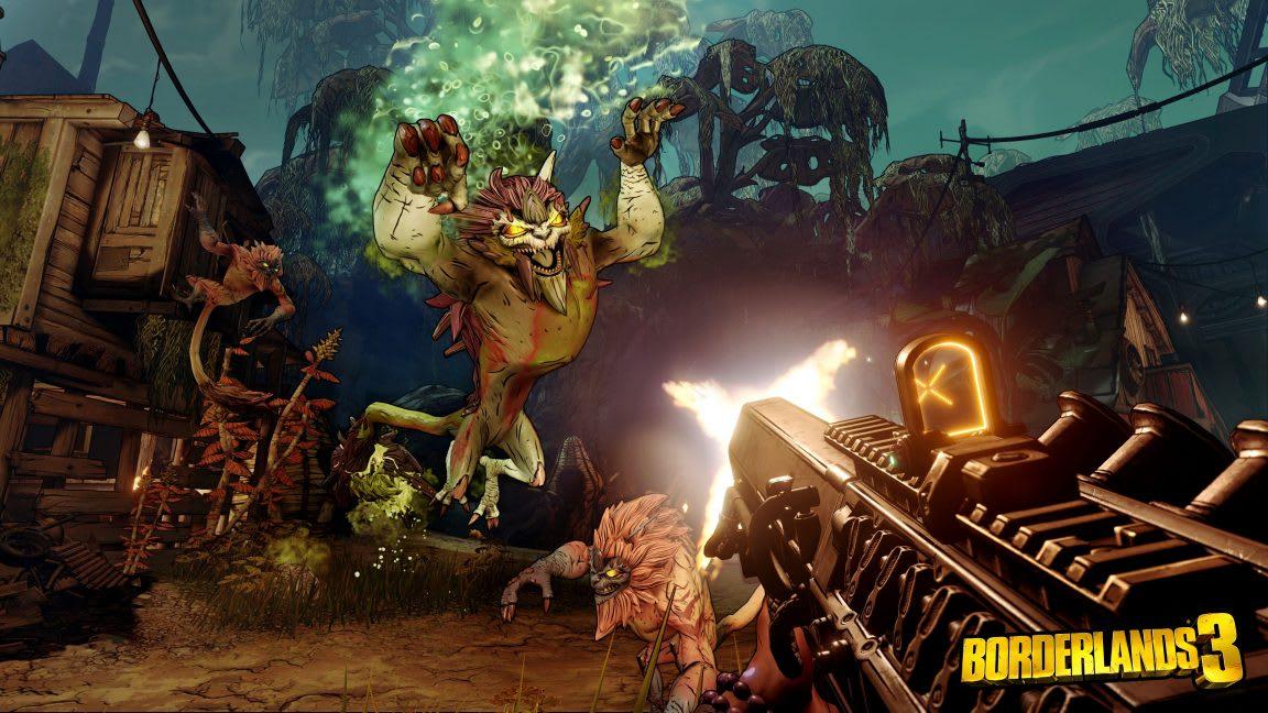Borderlands 3 végjáték, raid
