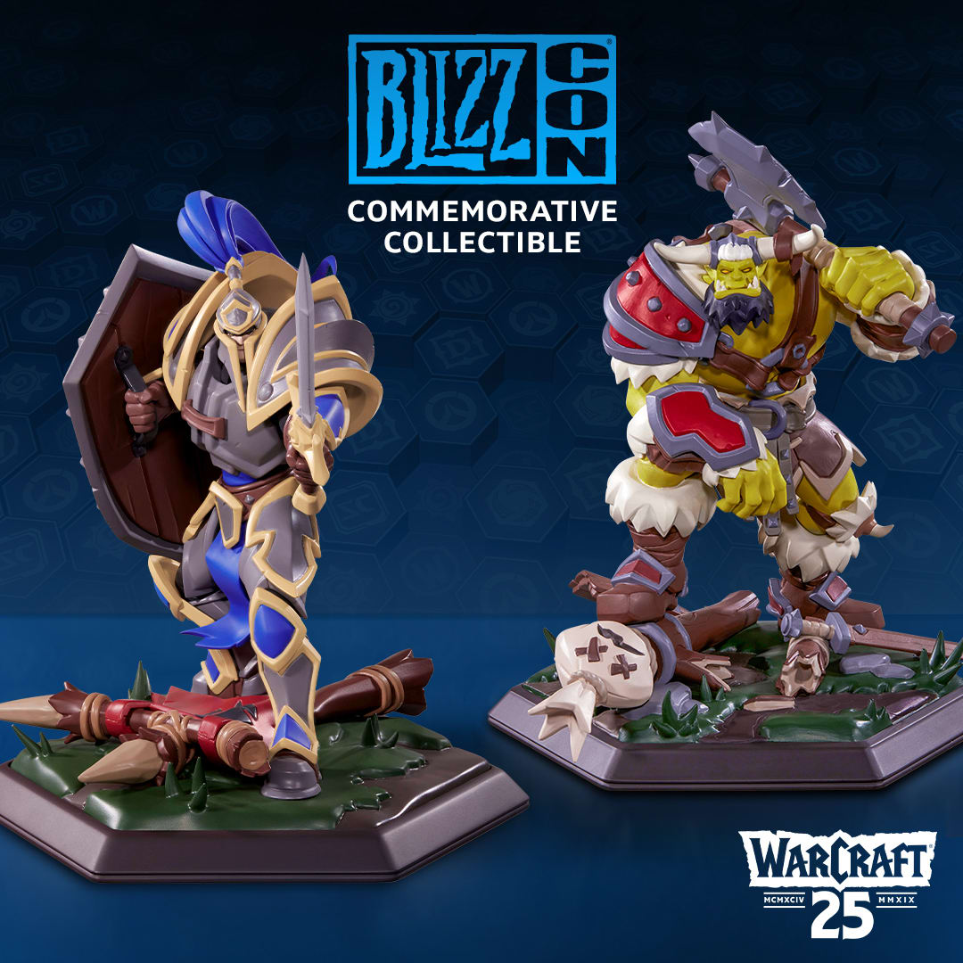 BlizzCon 2019 collectible statue