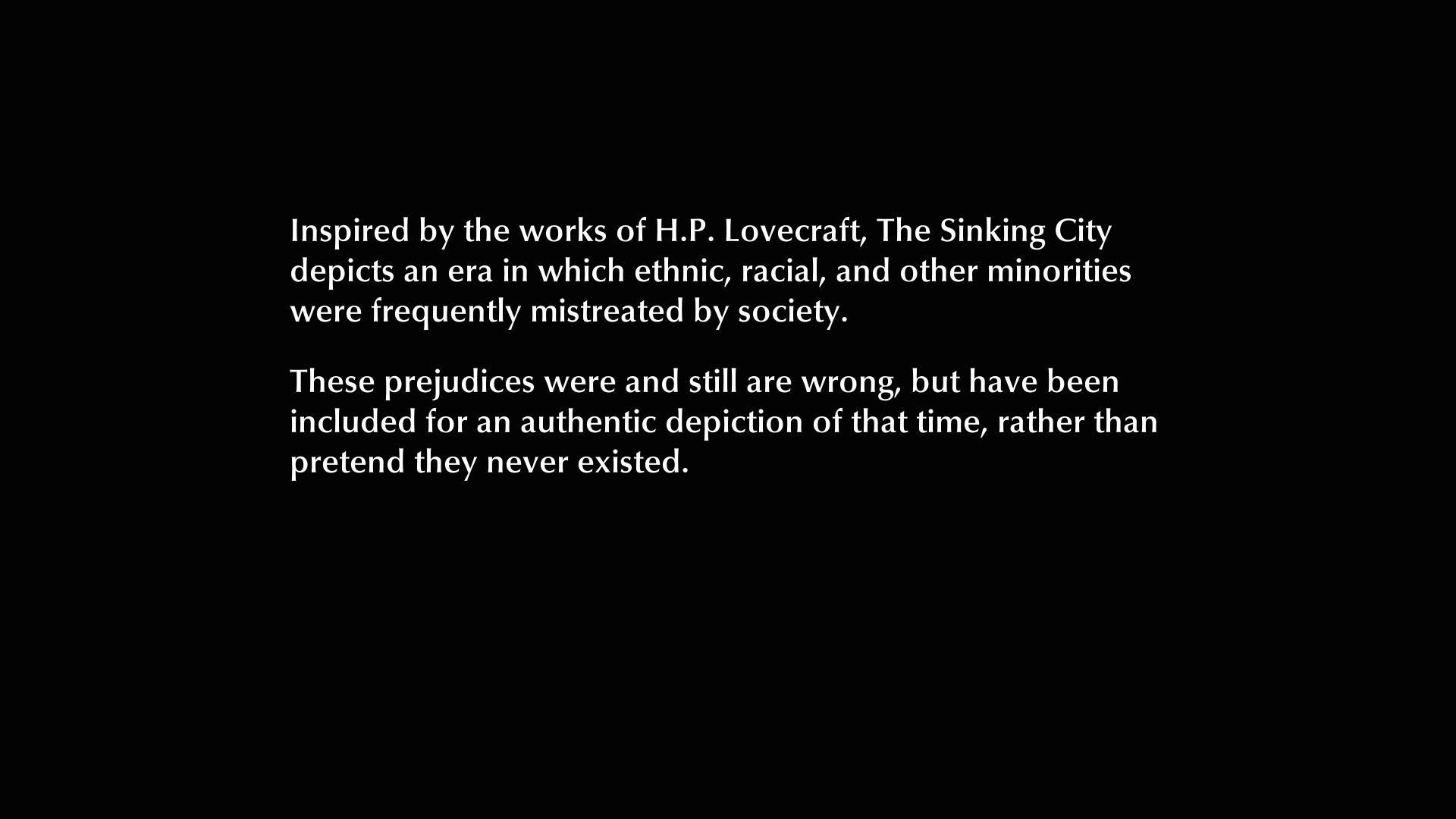 The Sinking City játékteszt