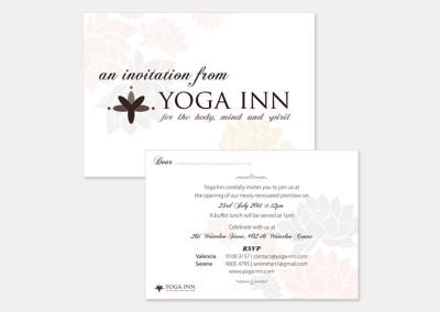 Yoga Inn Marketing Collateral