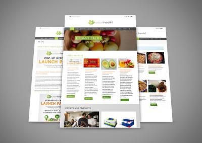 Urban Health Website Redesign