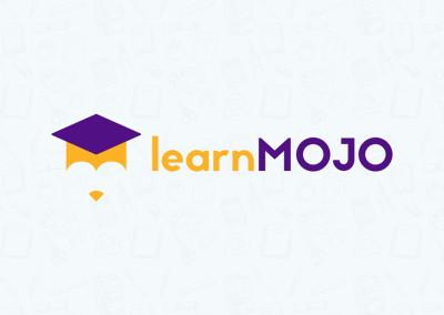 LearnMojo Logo Design x Coming Soon Page