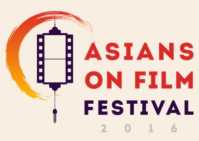 Asians on Film Festival Branding