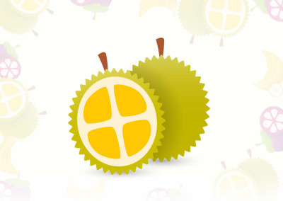 All About Durians Web Design