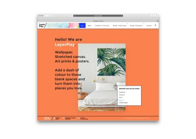 LayerPlay Website Front-end Development
