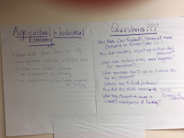 Group work agricultural to industrial society