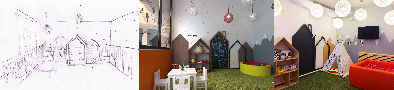 Детская комната ПиццаФабрики в Рыбинске