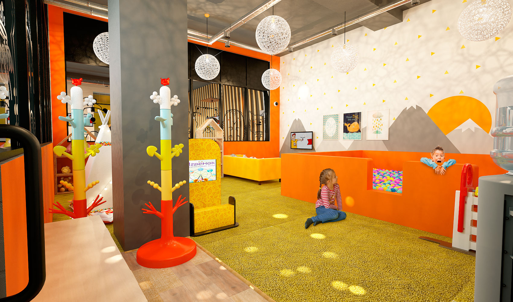 ПиццаФабрика Тольятти детская комната